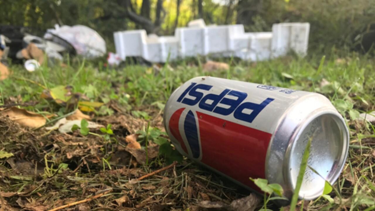 Park maintenance crews say trash dumping is a problem