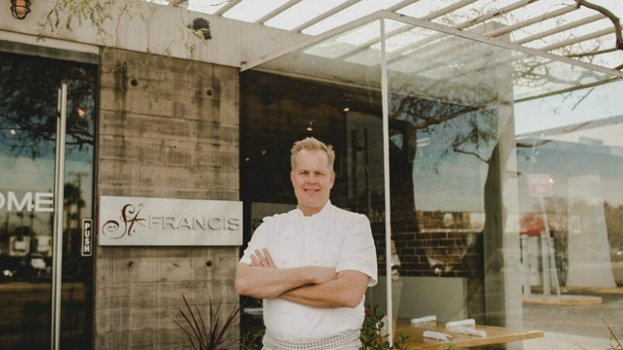 Phoenix chef Aaron Chamberlin sells St. Francis to new owners; opening new restaurant in Tempe