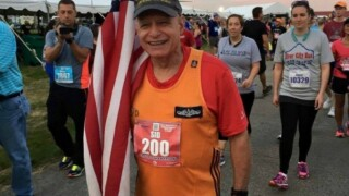 Photos: Navy veteran who runs for fallen soldiers, in need of help after car accident