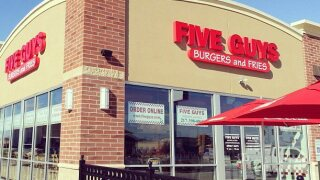 Five Guys employees fired, suspended after refusing to serve police officers in Alabama