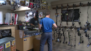 """""""The Bow Doctor"""" is keeping busy with archery season just around the corner"""