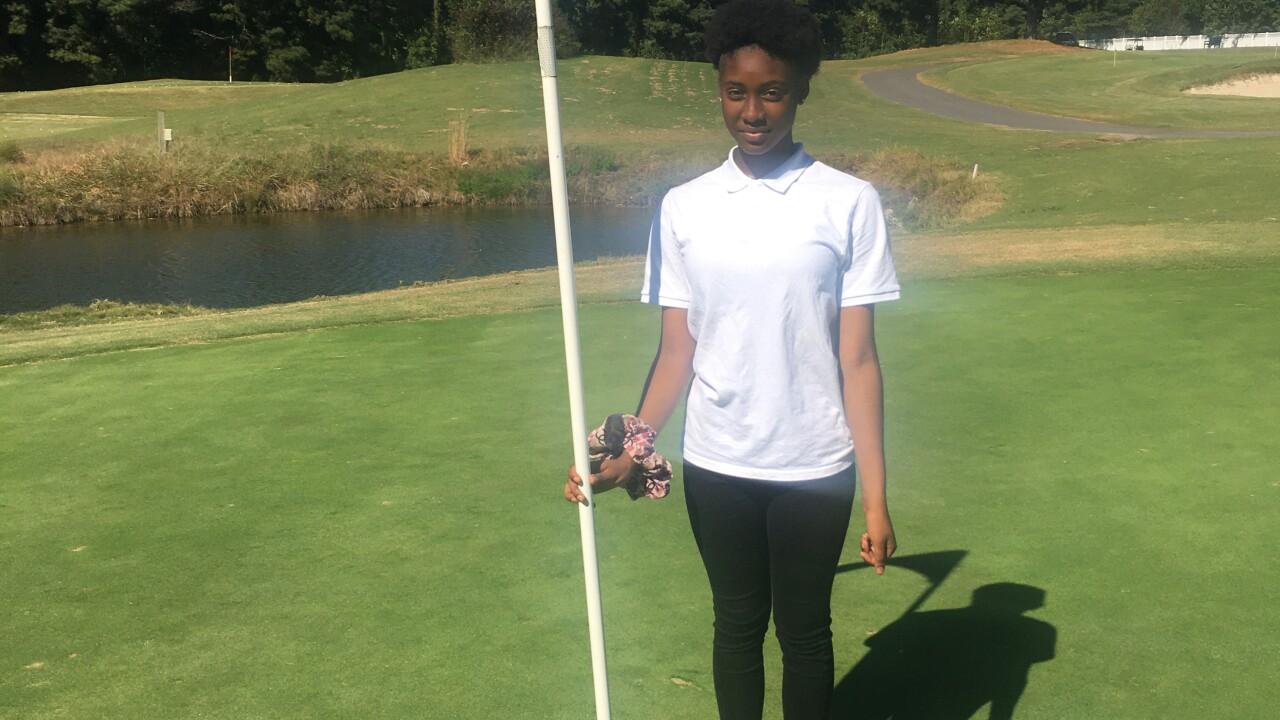 Ariel Picot Franklin High School golf