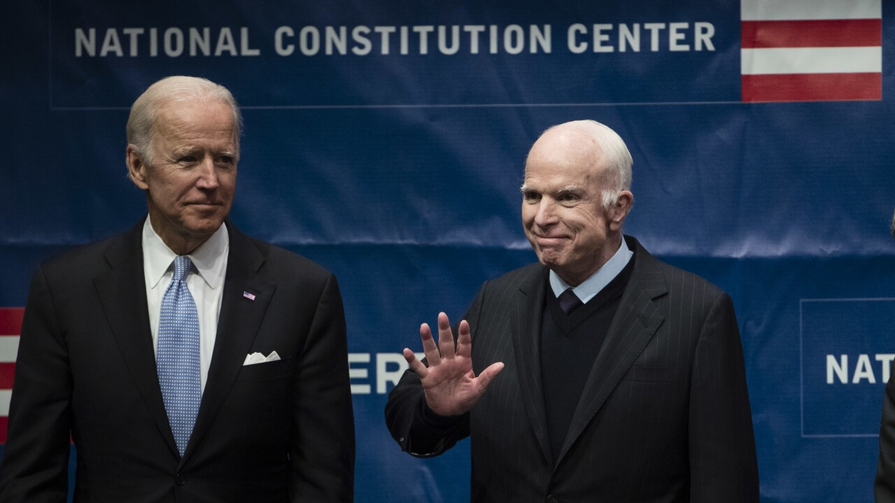 DNC to highlight 'unlikely friendship' between Biden and McCain