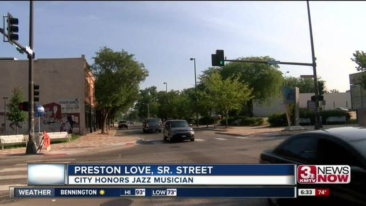Preston Love to be honored at 24th and Lake