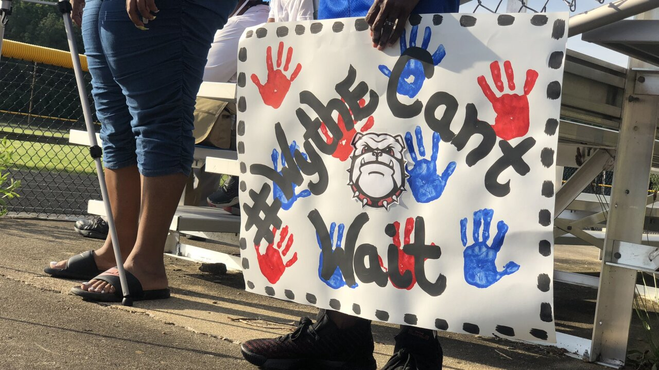 Community calls on city, school board to build a new George Wythe High School without delay
