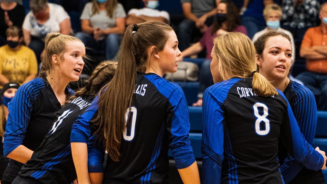 Corvallis volleyball team