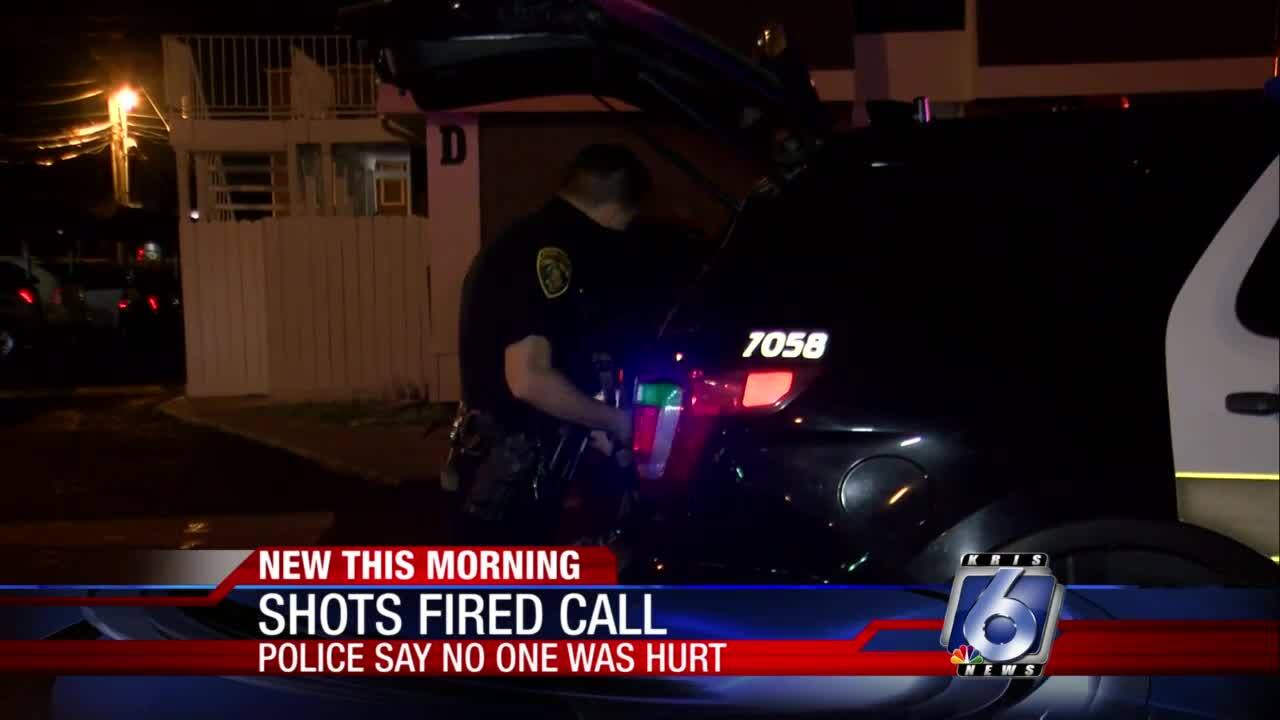 Shots fired early this morning at local apartment complex