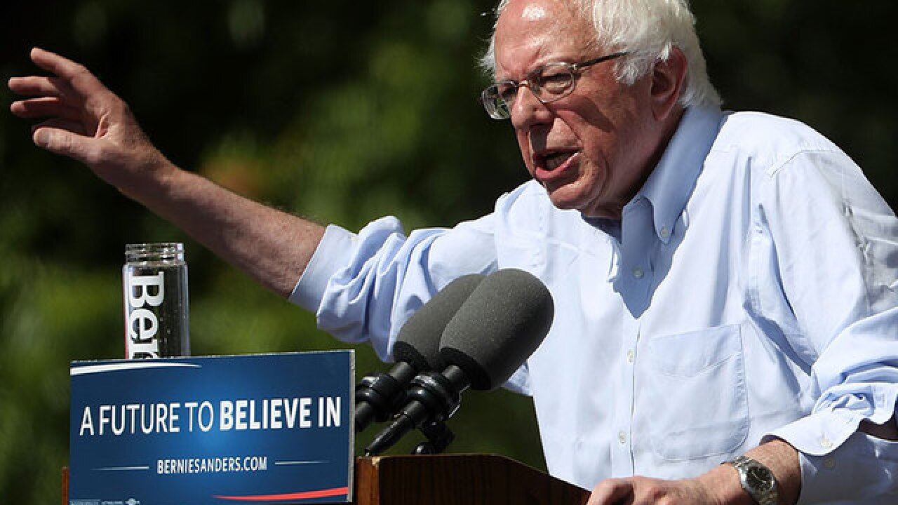 Report: Sanders to cut half his campaign staff
