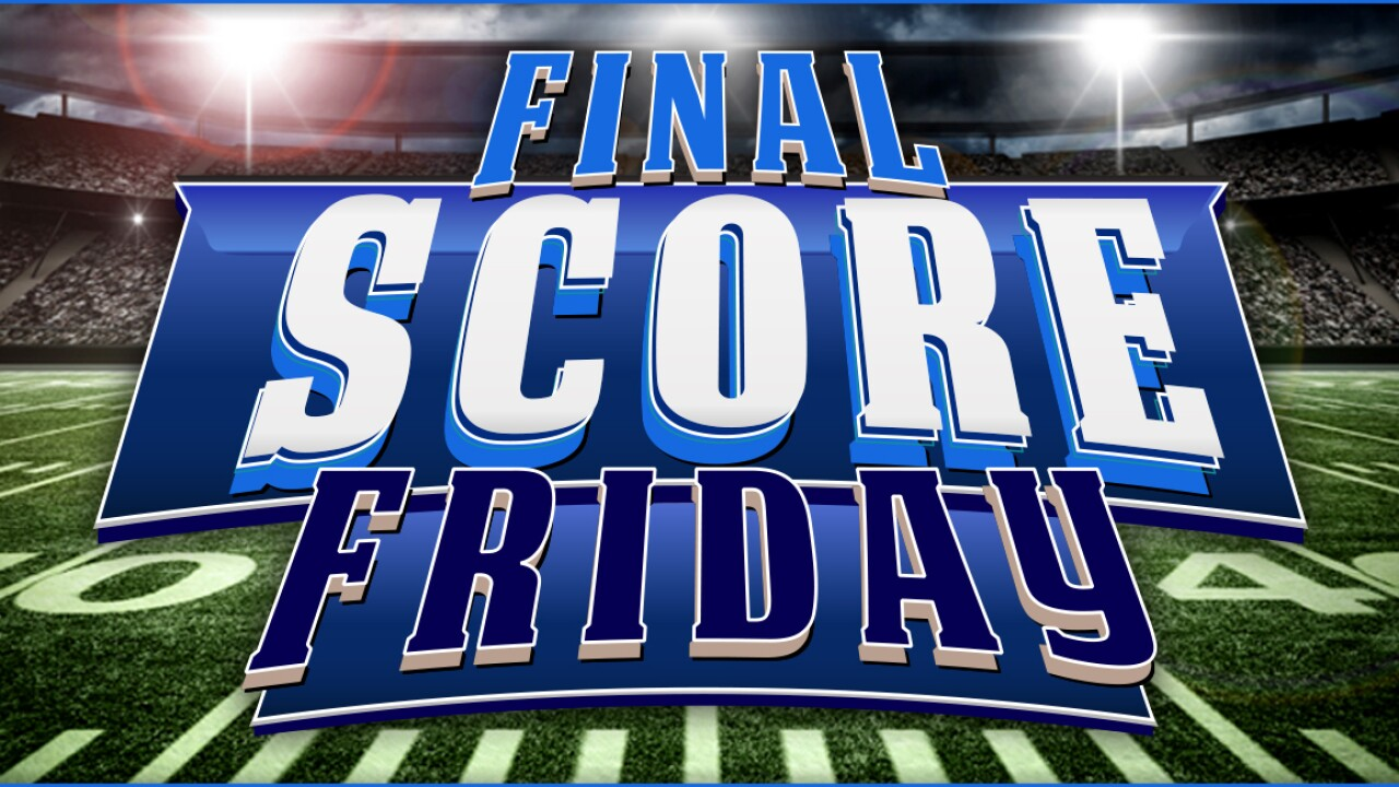 Final Score Friday – 2015: Week 2 scoreboard