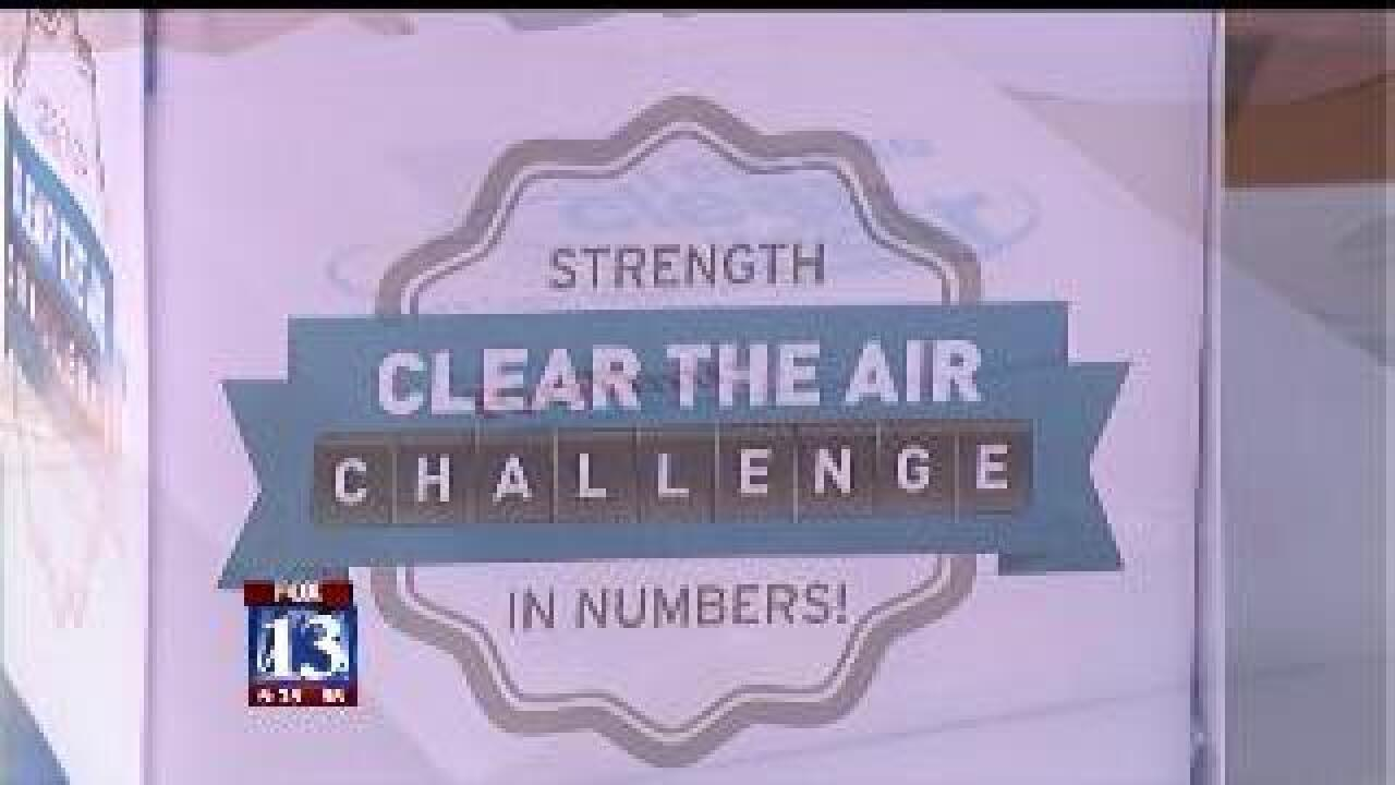 Utahns challenged to 'clear the air'