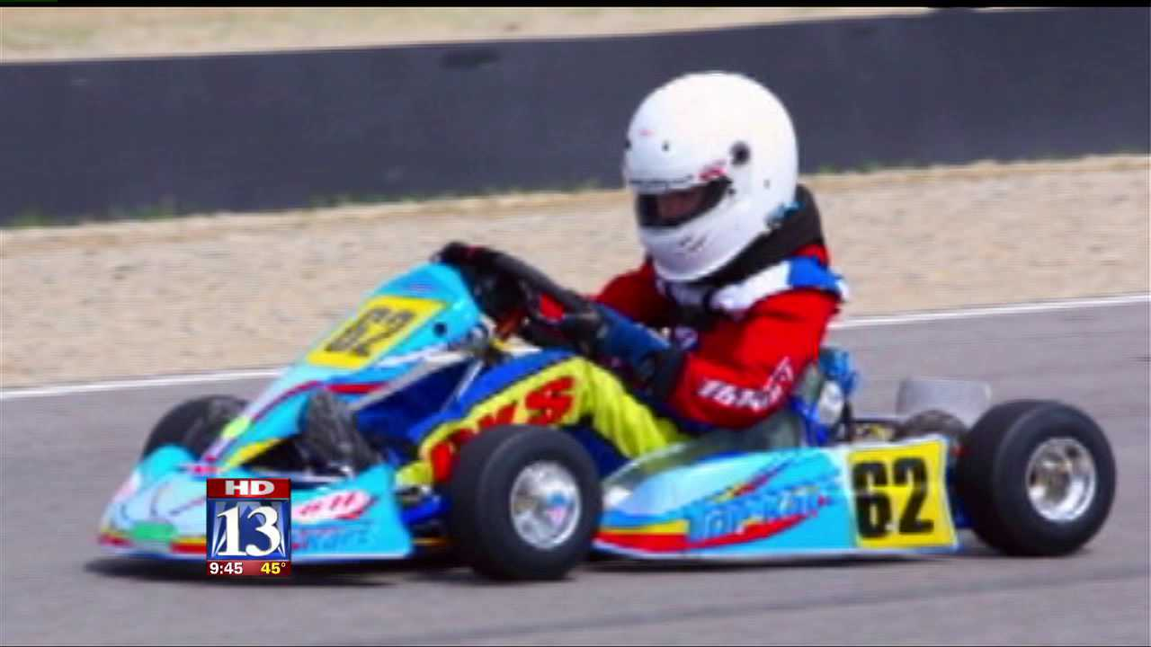 Teen driver turning heads at the racetrack
