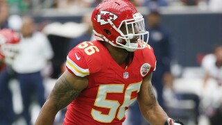 Chiefs' Derrick Johnson leaves game vs Raiders with Achilles injury