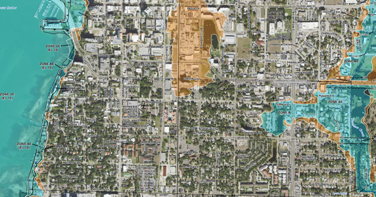 FEMA releases new flood hazard maps for Pinellas County