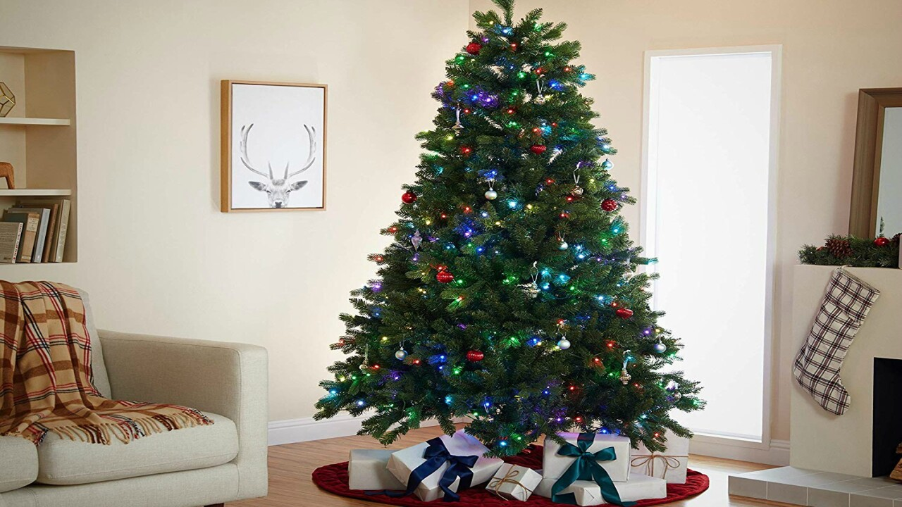 You can now buy an Alexa-compatible Christmas tree