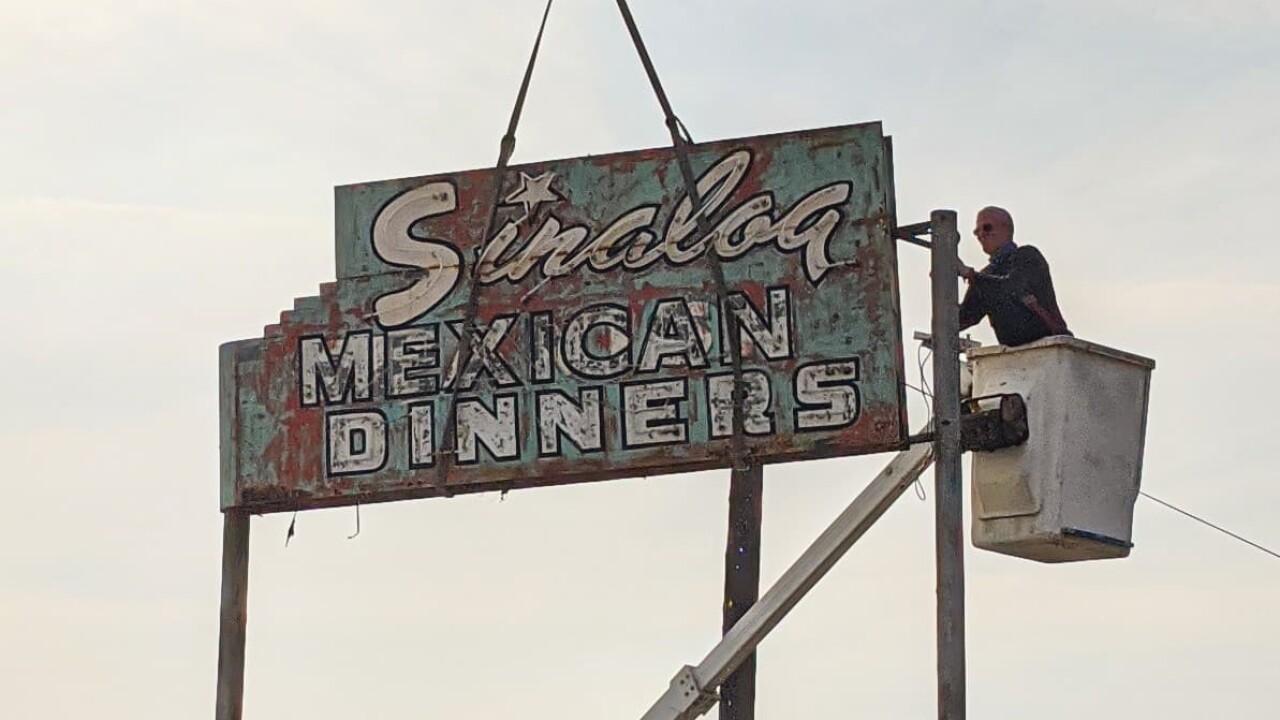 Sinaloa Sign