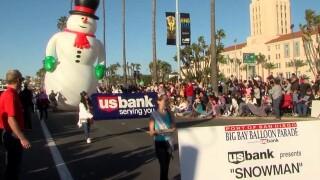 Holiday Bowl Parade kicks off NYE festivities in San Diego