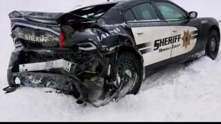 Salute the Badge: MCSO sergeant recalls narrowly surviving icy crash