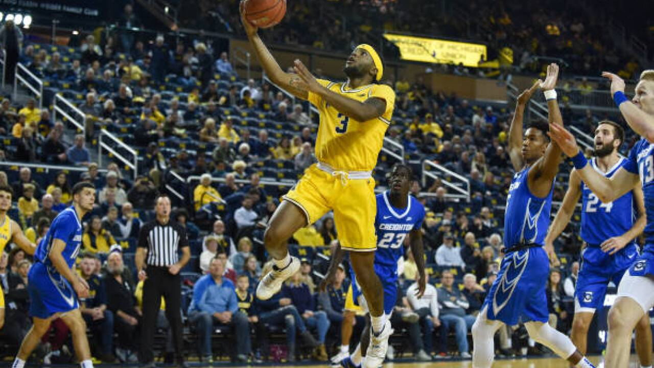 Strong second half lifts Michigan past Creighton