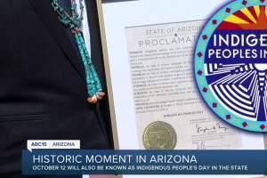 Historic moment in Arizona