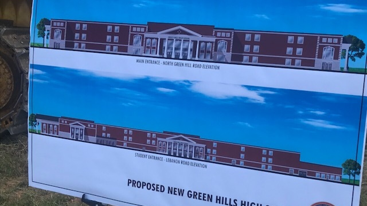 Ground Breaking Held For New High School