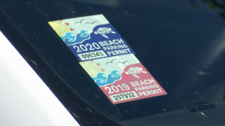 Beach parking permit sales up despite vehicle ban