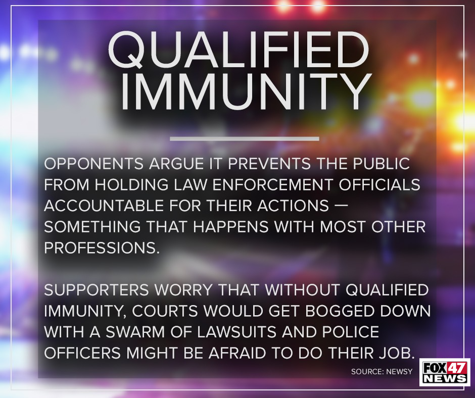 What opponents and supporters say about qualified immunity