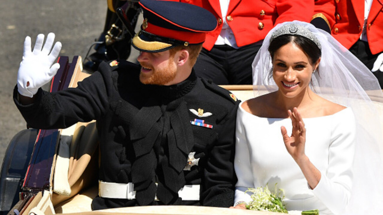 It's Official! Prince Harry and Meghan Markle proclaimed husband and wife