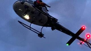 Injured hiker flown off of Mount Olympus