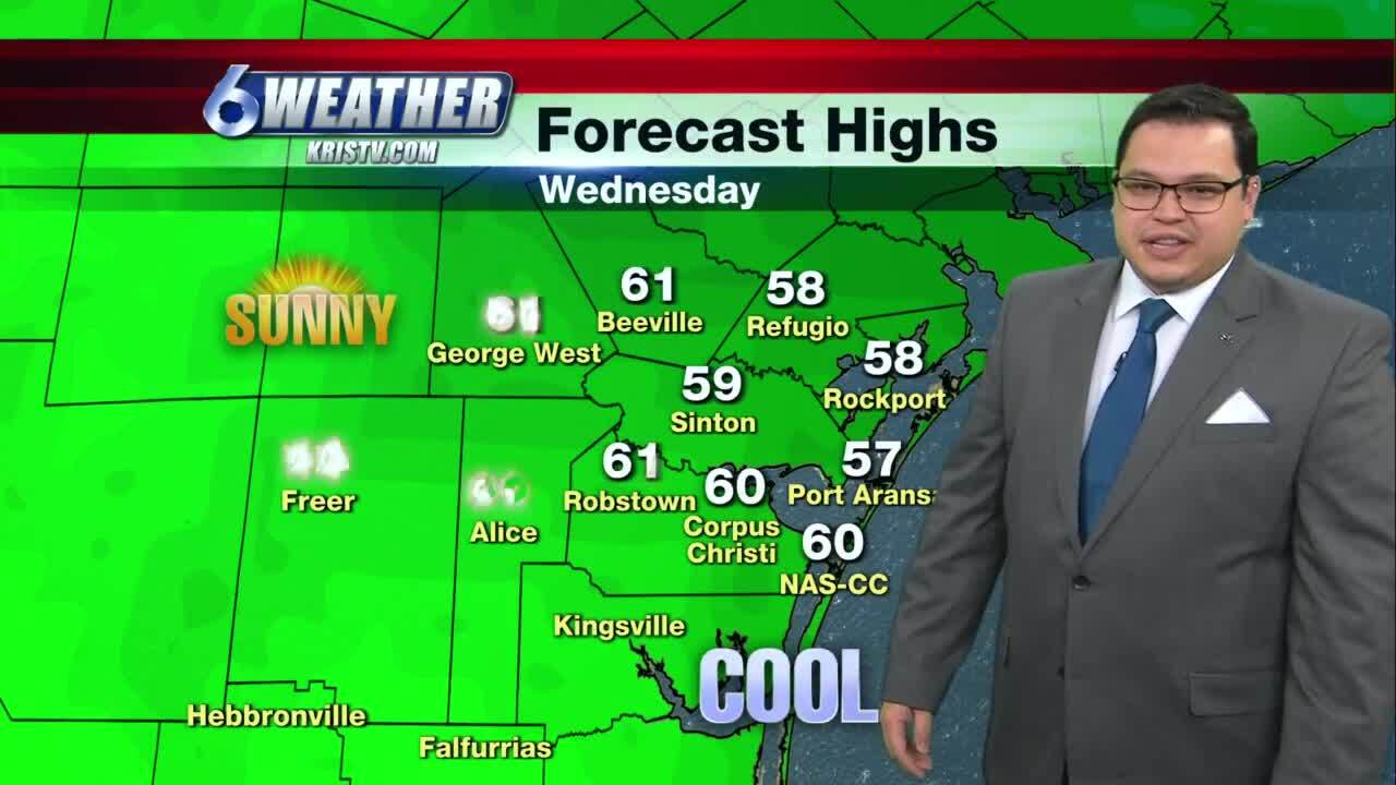 Juan Acuña weather forecast for Dec. 16