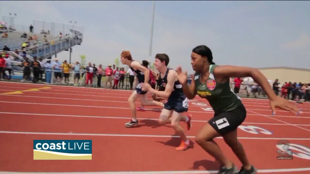 Meeting a very special athlete on CoastLive