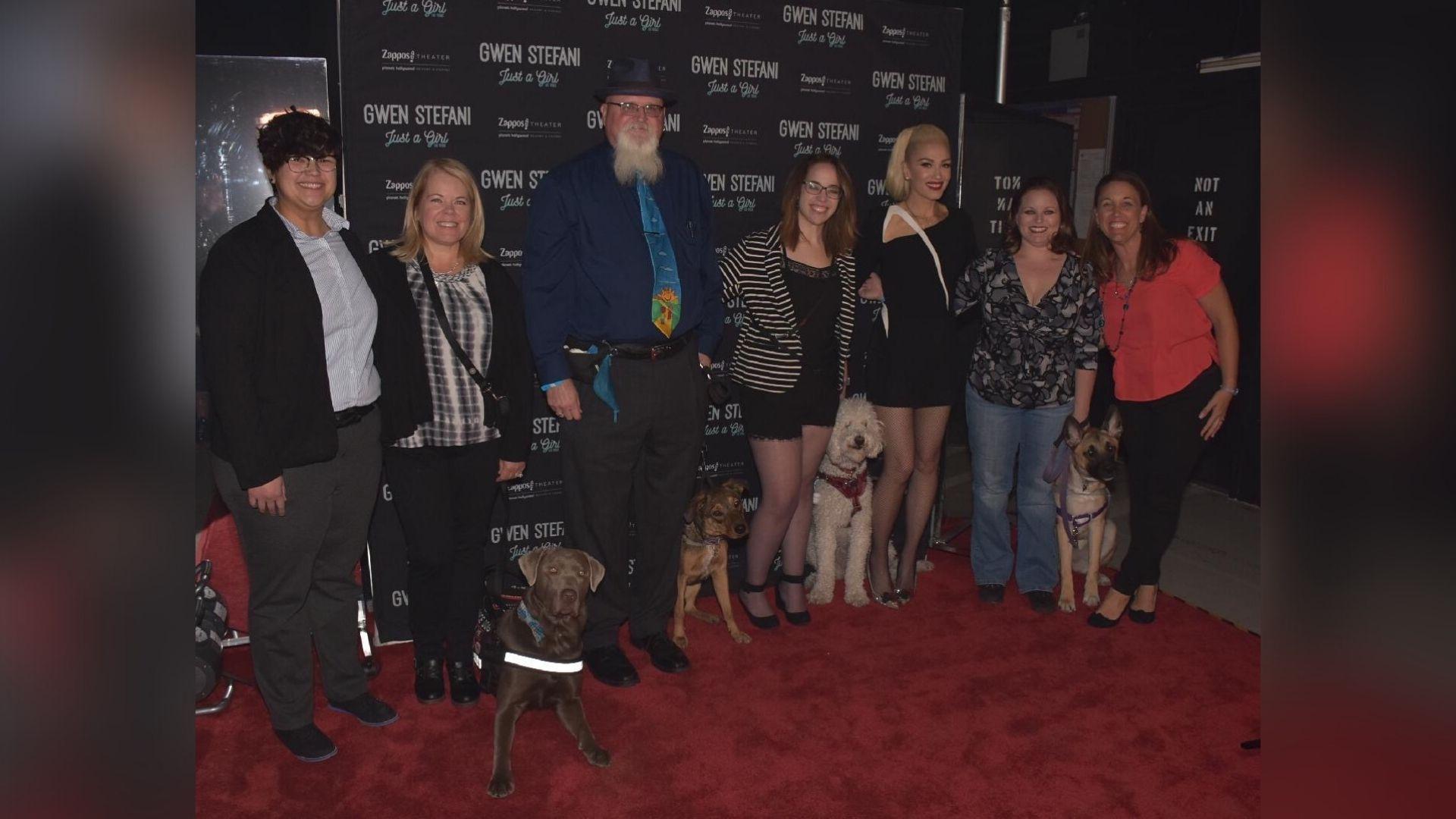 Service dogs attend Gwen Stefani show.jpg