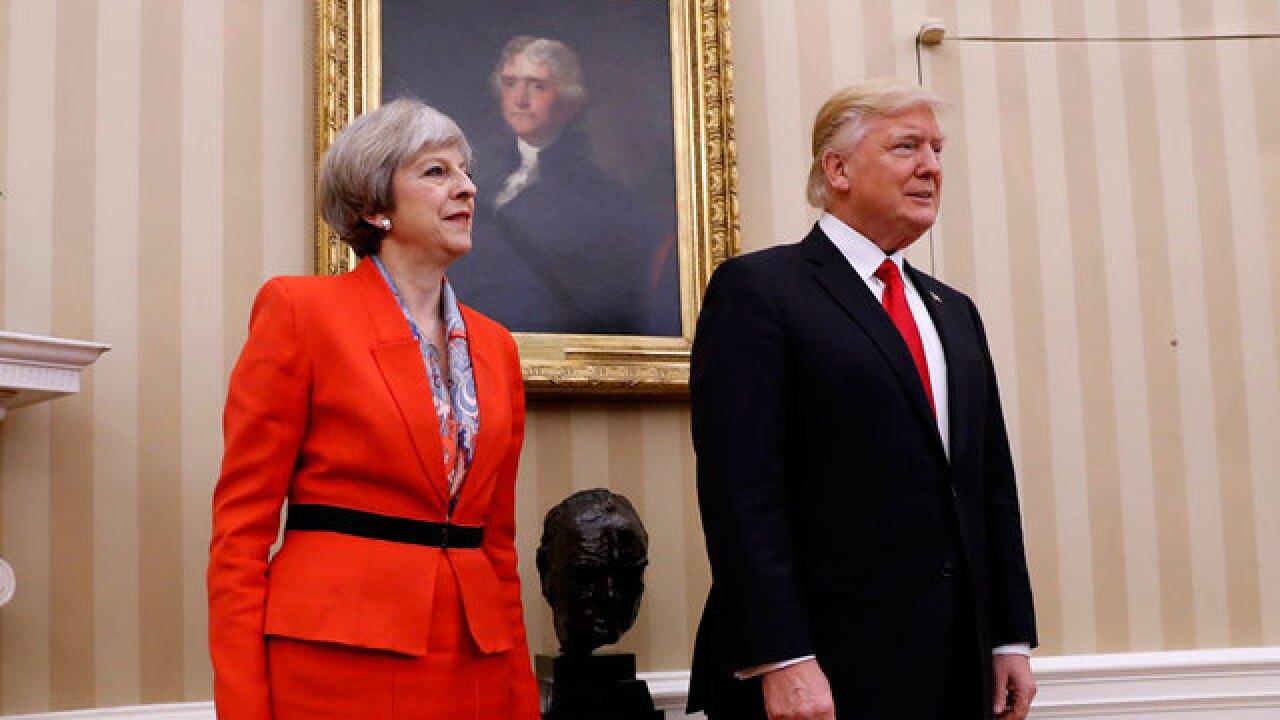 Trump and Britain's Theresa May to meet