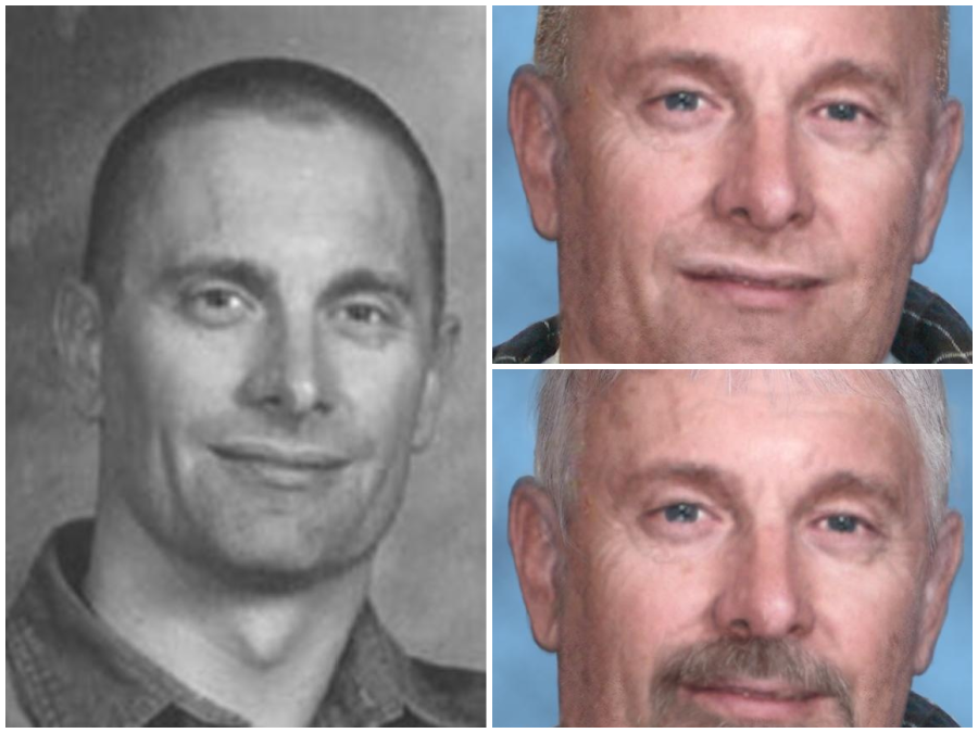 Robert Fisher age progression