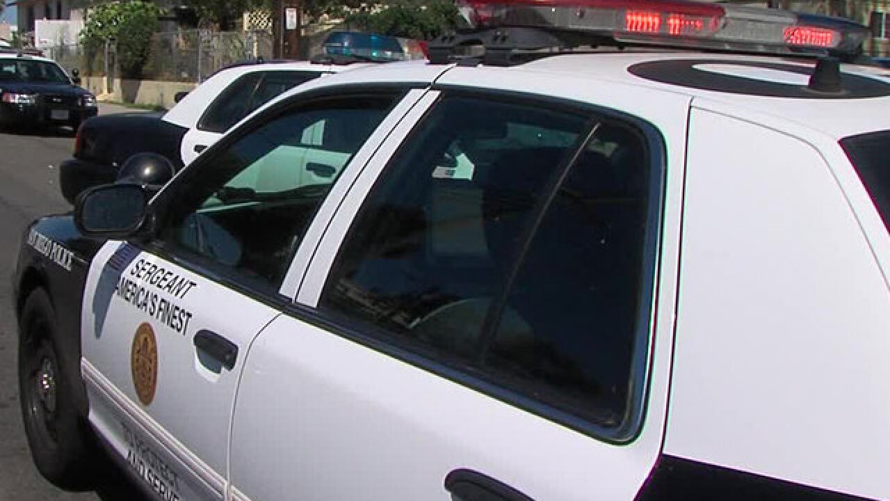 Police: Woman arrested after stealing car with kids inside, trying to cross border into Mexico