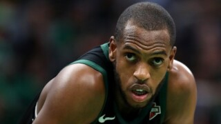 Milwaukee Bucks player Khris Middleton