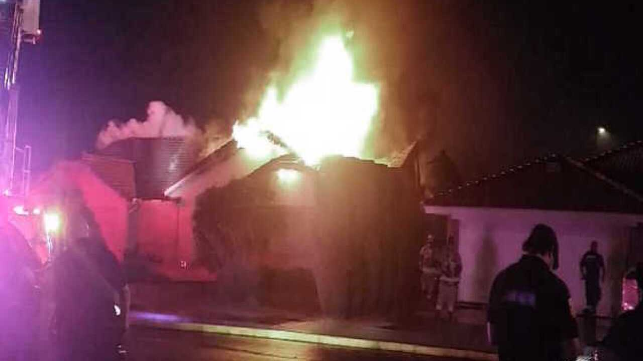Mesa home total loss after Tuesday night fire