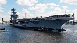 USS Dwight D. Eisenhower celebrates 39years!