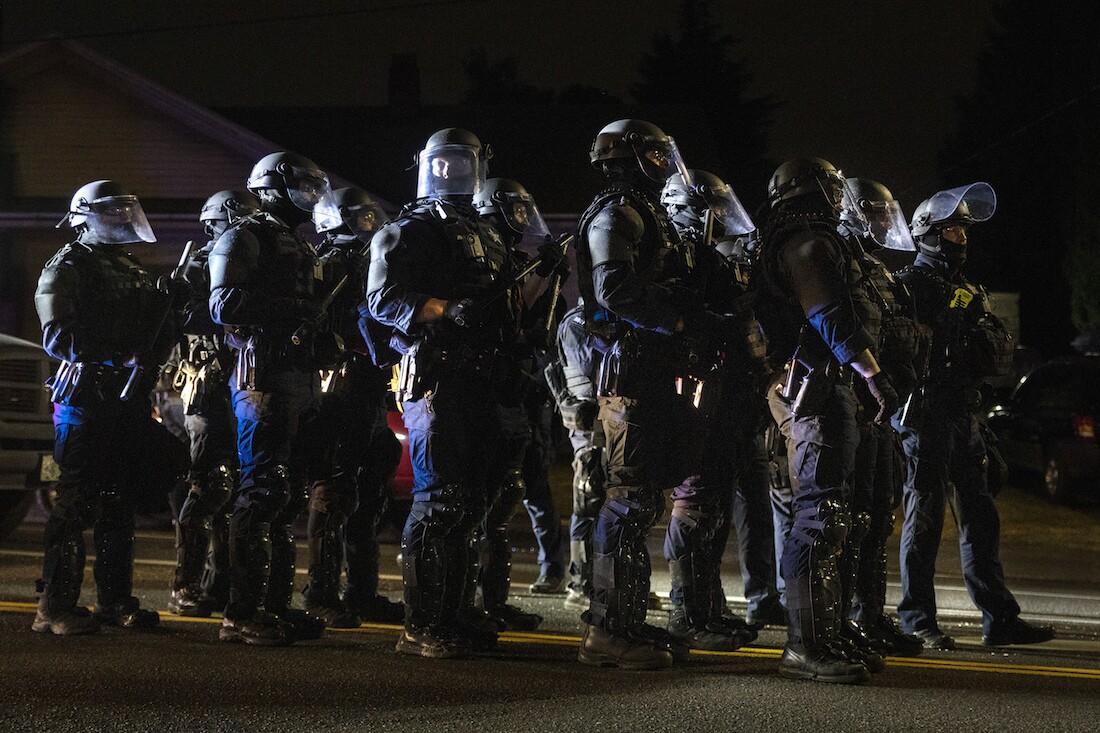 Portland Protests Media