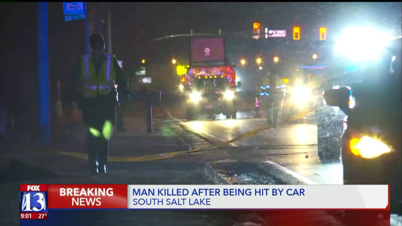 67-year-old man dies after being struck by car in South Salt Lake