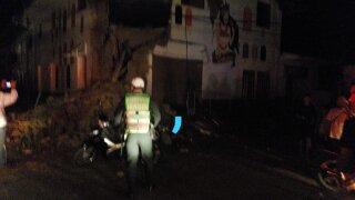 Peru earthquake leaves several injured