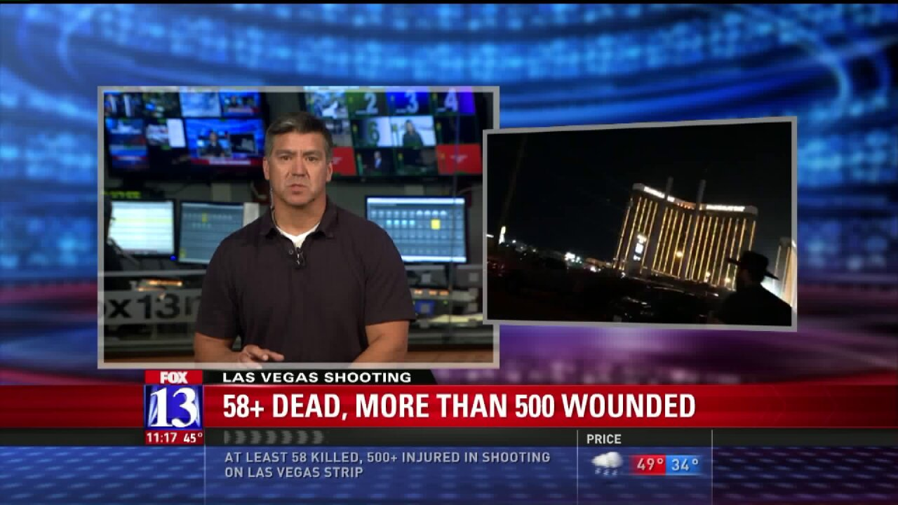 Former Las Vegas SWAT, tactical expert gives insight into Las Vegas mass shooting