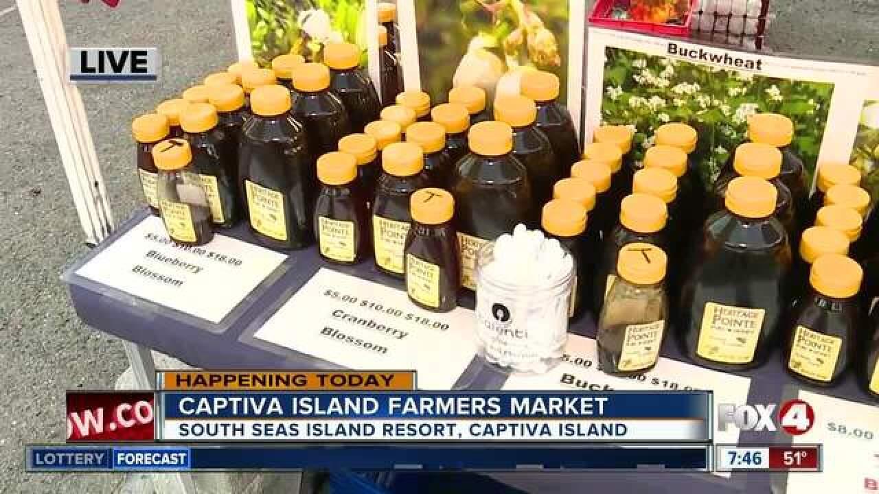 Captiva Island Farmers Market opens Tuesday