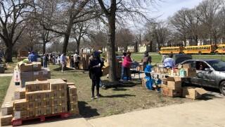 Unity Southeast Drive Thru Food Pantry