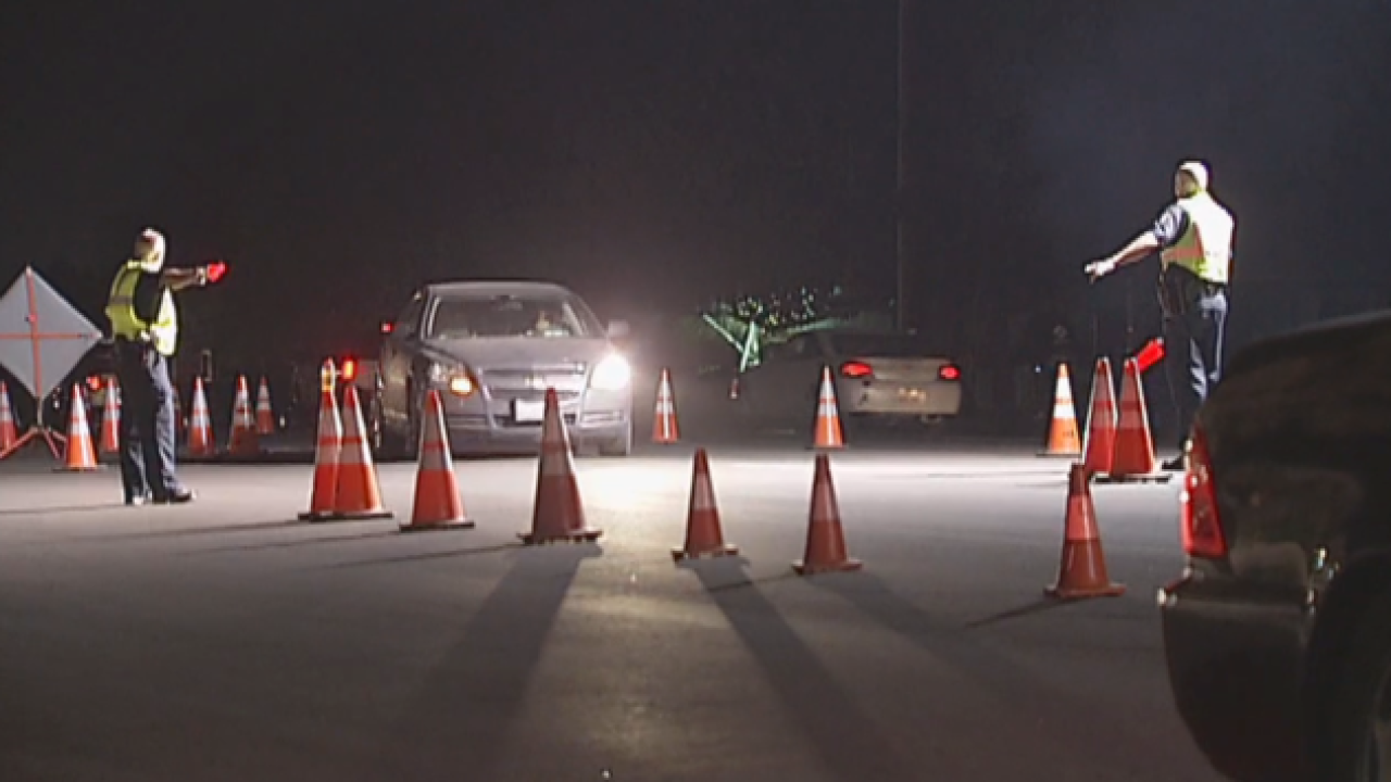 Bakersfield Police holding DUI, driver's license checkpoint