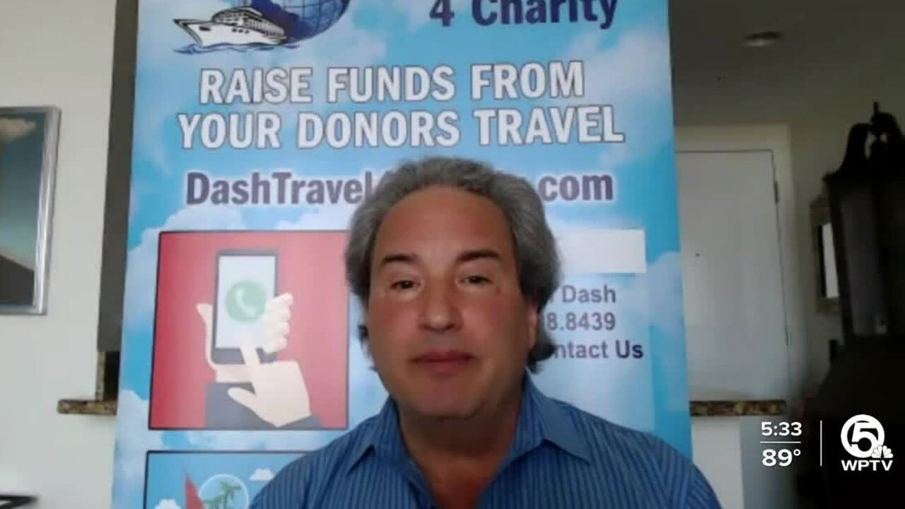 Jeff Dash, Delray Beach travel agent
