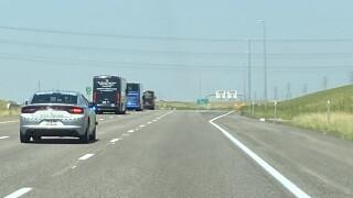 Broncos escort to DIA