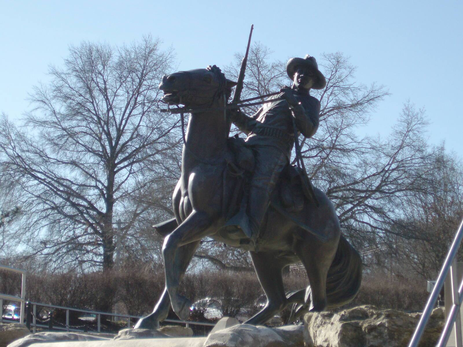 Buffalo Soldier Monument