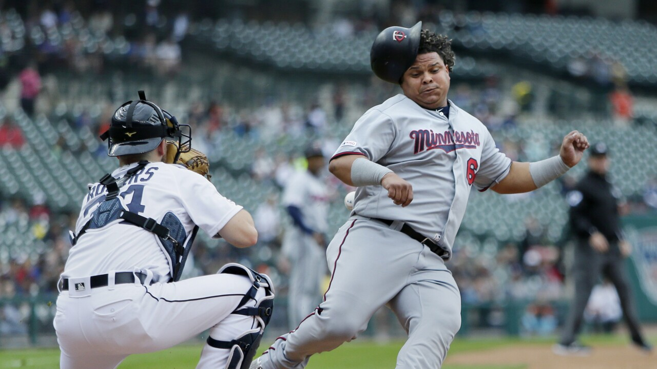 Willians_Astudillo_Minnesota Twins v Detroit Tigers