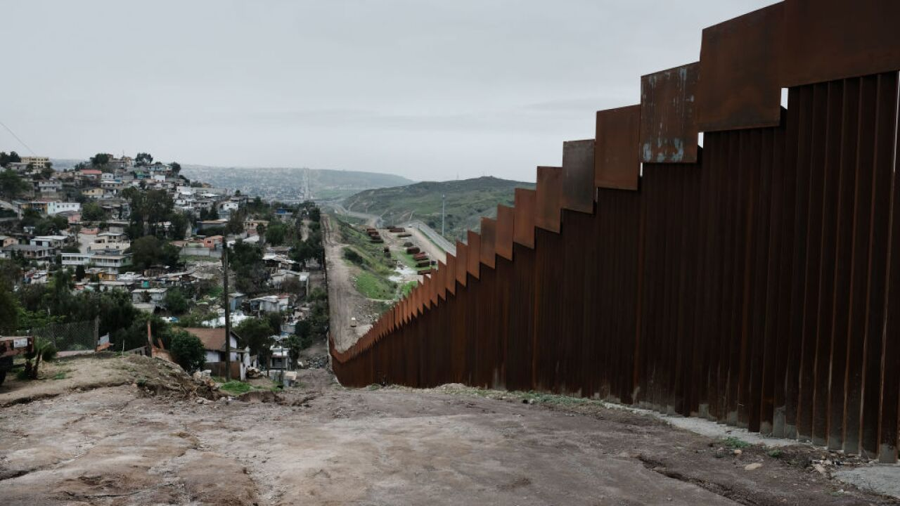 A private group says it's started building its own border wall using millions donated in GoFundMe campaign
