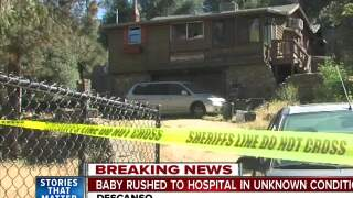 Baby rushed to hospital in medical emergency